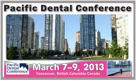 Pacific Dental Conference Vancouver Canada