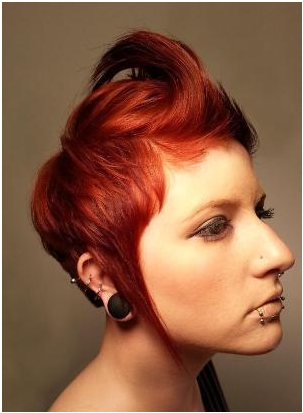 Different Ways to Get Rebellious Haircut and Color